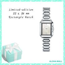 【TIFFANY&Co.】Limited-edition 22 x 26 mm Rectangle Watch♪