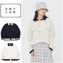 さらに100円引き◆ROMANTIC CROWN◆CABLE KNIT JACKET