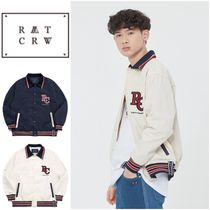 さらに100円引き◆ROMANTIC CROWN◆RC LOGO BOMBER JACKET