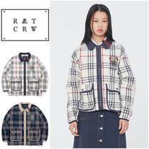 さらに100円引き◆ROMANTIC CROWN◆CLASSIC CHECK JACKET