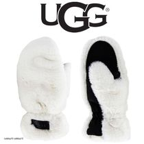 UGG ALL OVER FAUX FUR MITTENS ミトン