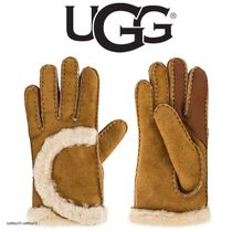 UGG EXPOSED CURVE SEAM グローブ
