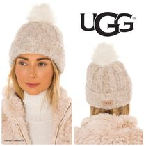 UGG CUFF HAT WITH POM ハット