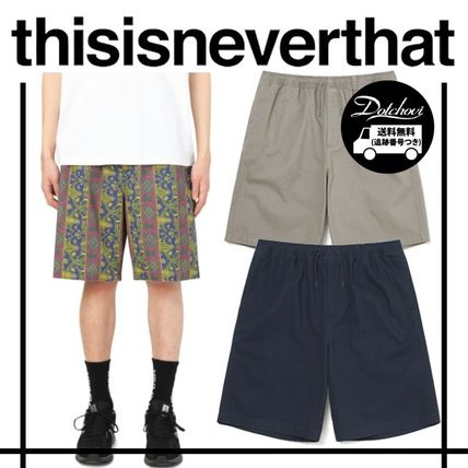 thisisneverthat Cotton Beach Short YJ1227 追跡付