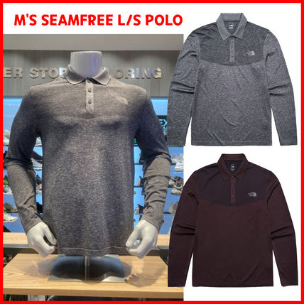 THE NORTH FACE★M'S SEAMFREE L/S POLO_NT7QL51