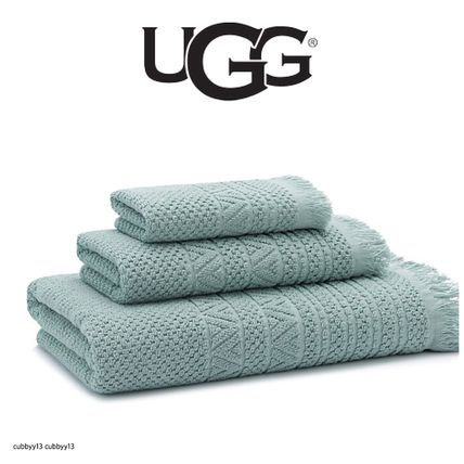 UGG Napa Jacquard Bath Towel in Agave バスタオル