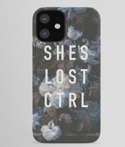 *Society6* She's lost control iPhone ケース