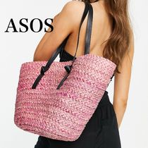 ASOS/South Beach 限定ストロートートバッグ【国内発送】