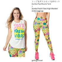 新作♪2点セットZumba Pop Muscle Tank+Fresh Vibes Leggings