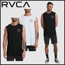 【RVCA】VA ALL THE WAY MUSCLE TOP ロゴ タンクトップ 2色