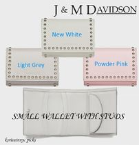 NEW*J&M DAVIDSON*SMALL WALLET WITH STUDS 折りたたみ財布