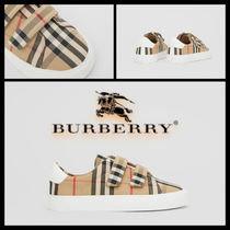 【関税込】SS21☆大人OK☆BURBERRY VINTAGE CHECK Sneakers