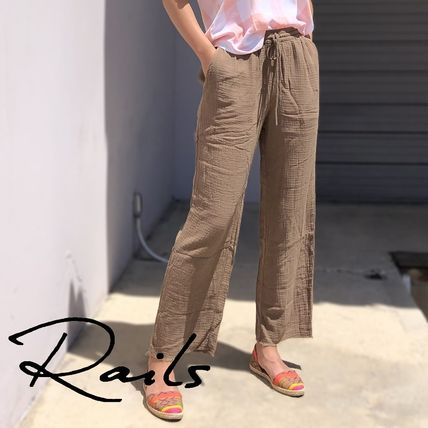 RAILS★AGNES WIDE LEG PANTS CANTEEN 楽ちん パンツ