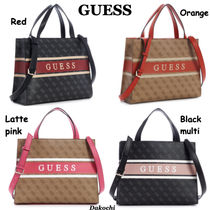 GUESS◆ロゴ トート バッグ◆Monique Tote