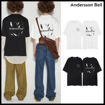 ANDERSSON BELL(アンダースンベル) Tシャツ・カットソー ●ANDERSSON BELL● UNISEX CREVICE ART T-SHIRTS 半袖 韓国発