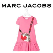 MARC JACOBS(マークジェイコブス) キッズワンピース・オールインワン ☆The Marc Jacobs☆ キッズ ロゴ ラッフル ワンピース