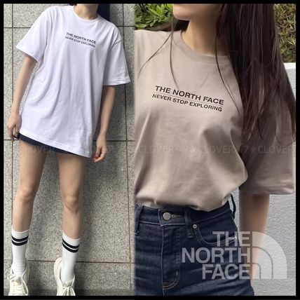 THE NORTH FACE Tシャツ・カットソー 国内発送/正規品★THE NORTH FACE★MEN'S LOGO & SLOGAN T-SHIRT