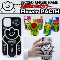 SECOND UNIQUE NAME(セカンドユニークネーム) iPhone・スマホケース 【NEW】「SECOND UNIQUE NAME」Flower PATCH 正規品