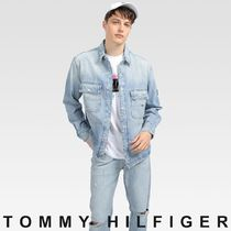TOMMY JEANS デニムワークジャケット 国内買付 すぐ届く
