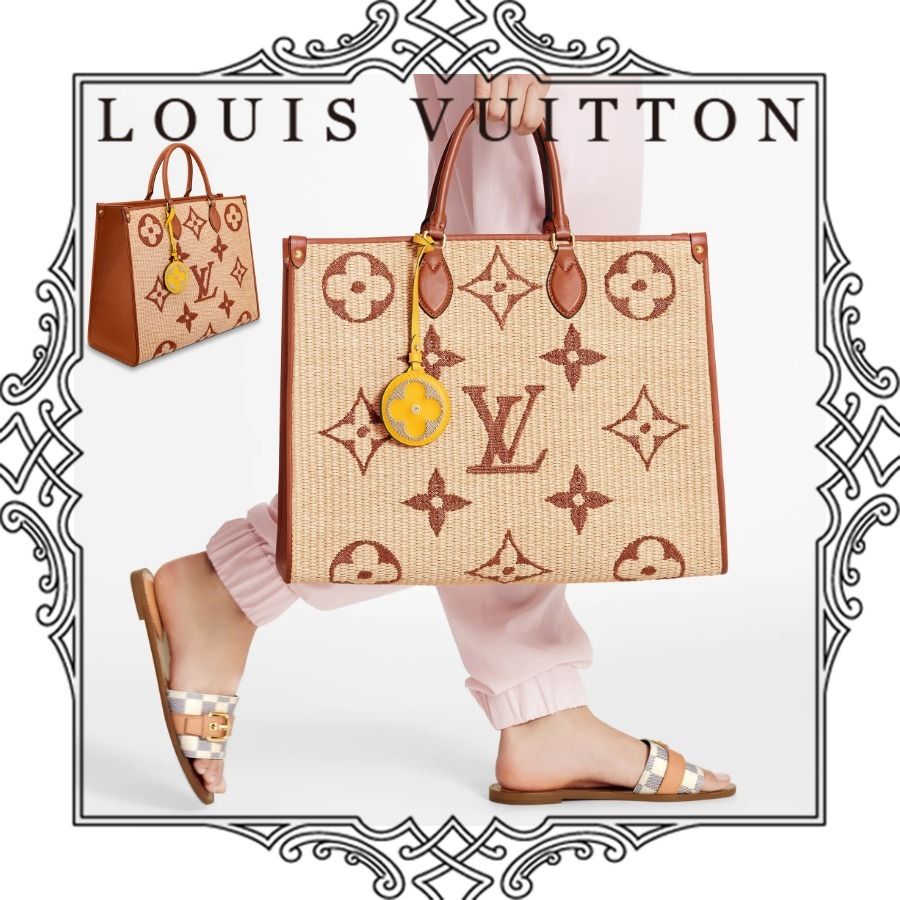 LOUIS VUITTON オンザゴー GM By The Pool 国内直営店 すぐ届く (Louis Vuitton/かごバッグ) M57644