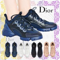 DIOR 直営店 D-CONNECT スニーカー ロゴ クリア 4色展開