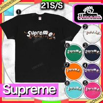 21SS /Supreme Apes Tee シュプリーム ロゴ Tシャツ
