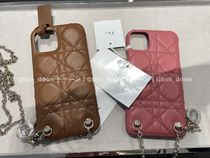 【Dior】2021SS LADY DIOR IPHONE 12 PRO MAXチェーン付きケース