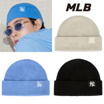 ★SEVENTEEN 着用★MLB★韓国★COOLING SIDE LABEL SHORT BEANIE