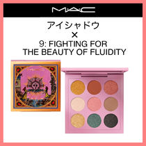 MAC☆アイシャドウ X 9: FIGHTING FOR THE BEAUTY OF FLUIDITY