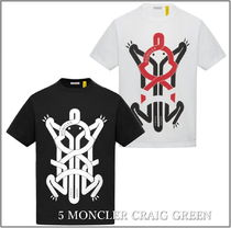 MONCLER(モンクレール) Tシャツ・カットソー 21SS*MONCLER 5CRAIG GREEN フラッグモチーフT/2色【関税込】