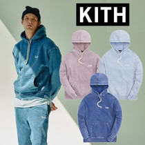 【KITH】パーカー Overdyed Heather Williams III Hoodie