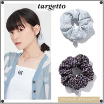 TARGETTO SEOULのDAISY JACQUARD SCRUNCHIES 全2色