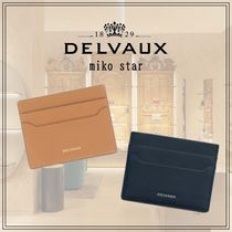 DELVAUX(デルボー) カードケース・名刺入れ 【DELVAUX】Come M Card Holder ロデオカーフ カードケース 2色