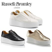 Russell & Bromley(ラッセルアンドブロムリー) スニーカー 【Russell&Bromley】PARK UP Flatform Laceless Sneaker
