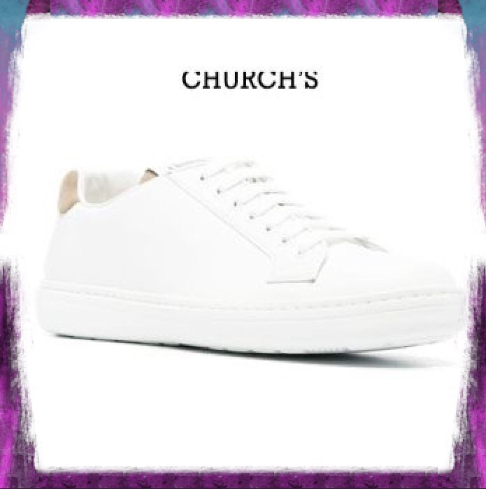 【CHURCH'S】BOLAND PLUS 2 SNEAKERS IN LEATHER AND SUEDE (Church's/スニーカー) EEG0319AB2F0ZTJ