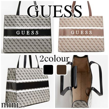 【GUESS】ロゴ モニーク トートバッグ