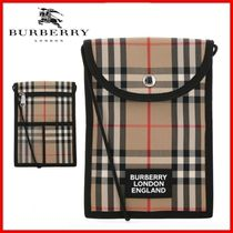 ◆Burberry◆Vintage Check smartphone pouch◆正規品◆