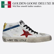 Golden Goose Deluxe Brand Mid Star smooth leather sneakers