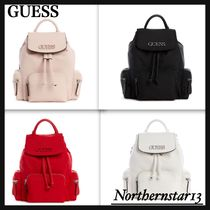 【GUESS】Simpson Backpack/ロゴ入り★各色