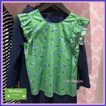 【kate spade】上品なお花柄♪ tea garden toss ruffle top ★