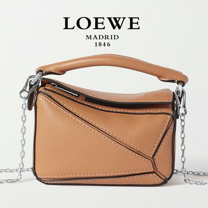 ∞∞ LOEWE ∞∞ Puzzle nano leather shoulder バッグ☆