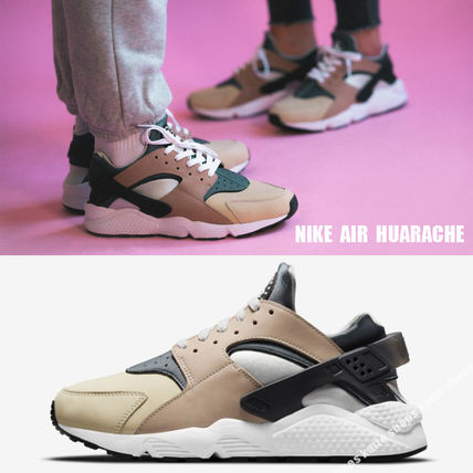 NIKE★AIR HUARACHE★BISQUE/STORM GREY/ROPE/WHITE