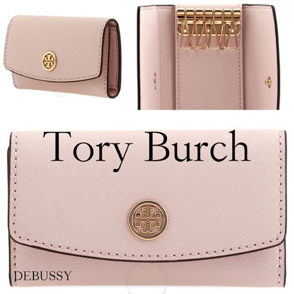 *Tory Burch* Pink Robinson Foldable Key Case【送料関税込】