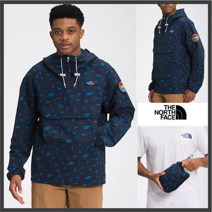 【The North Face】ロゴパッチ ウィンドブレーカー