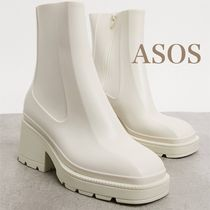 ASOS/Grounded ヒールレインブーツ【国内発送】