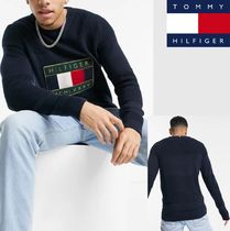 【TOMMY HILFIGER】iconic logo graphic ニットセーター 1790085