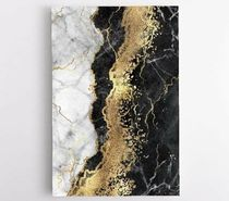 """Gold Abstract Marble キャンバスアート 61×41cm(24""""x16"""")"""
