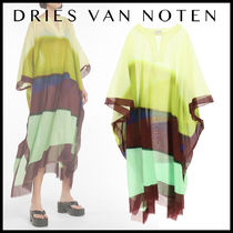 【関税/送料込】DRIES VAN NOTEN / Printed cotton voile kaftan