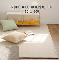 【THEFRIGG】UNIQUE WOOL MATERIAL RUG/ L size(150 x 200cm)