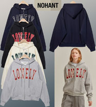 【NOHANT】★韓国★LONELY/LOVELY HOODIE ZIP-UP★
